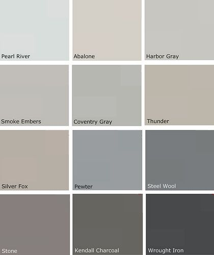 grey paint color combinations. benjamin-moore-gray-owl-150x150.jpg\ grey paint color combinations