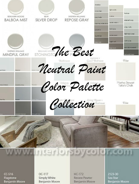 Best neutral interior paint colors 2017 for Best neutral colors for home
