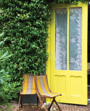 Exterior Door in Yellowcake No.279