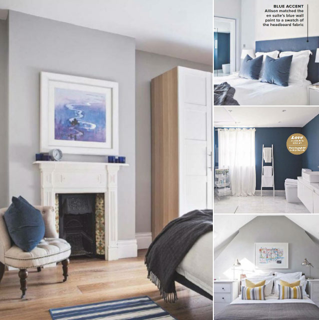 Farrow & Ball Pavilion Gray & Stiffkey Blue