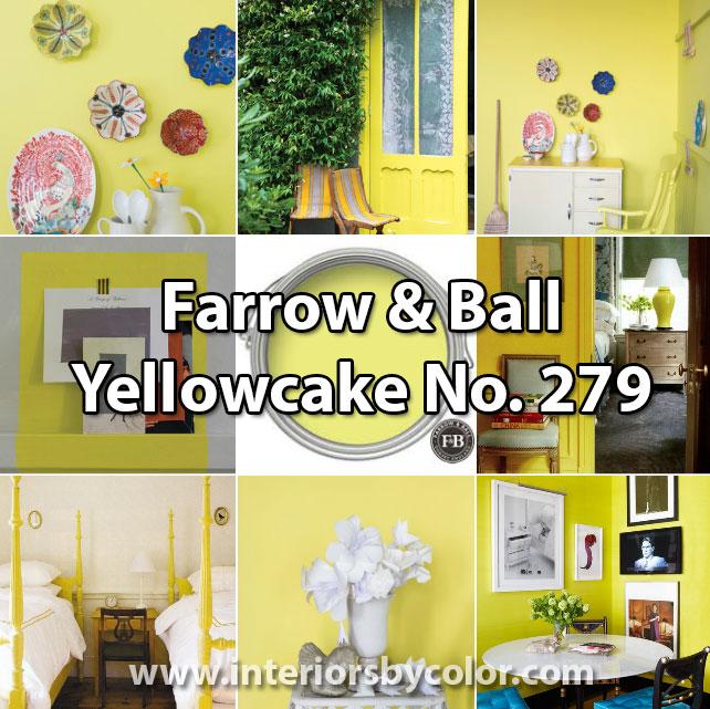 Farrow and Ball Yellowcake No. 279