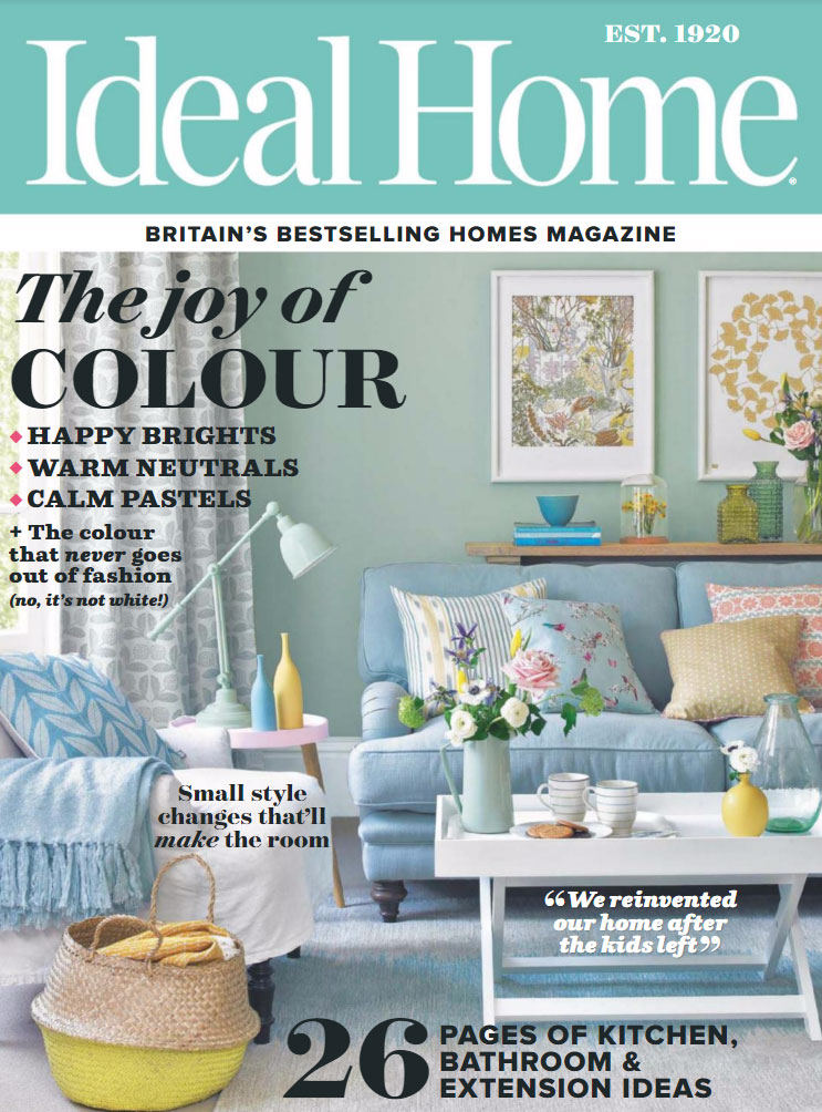 Ideal Home April 2014 Cover