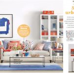 Orange and Blue Interior Design Color Palette 2017