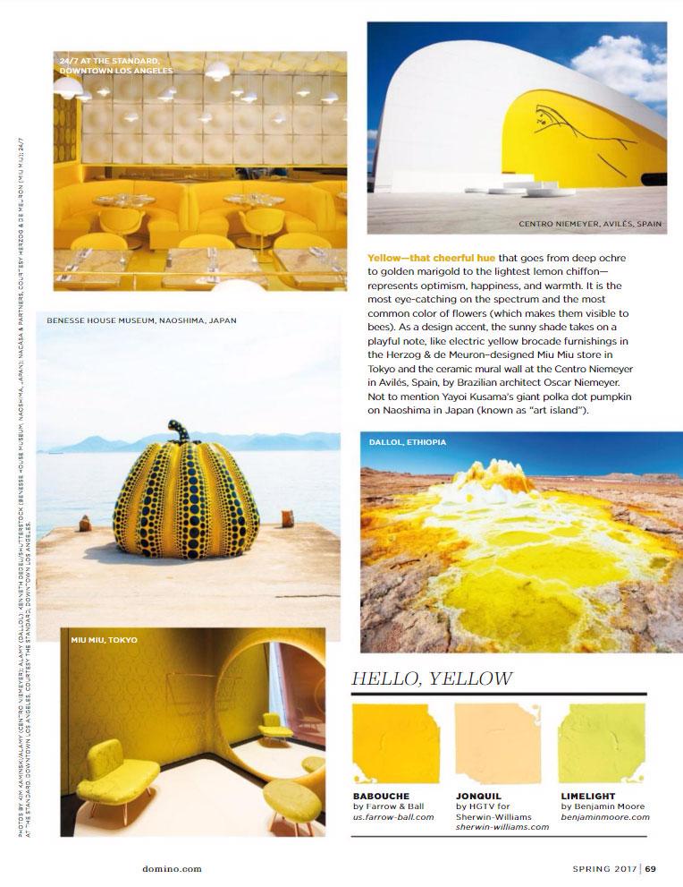 Yellow Paint Color Scheme 2017
