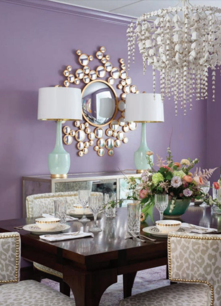 Enjoyable Purple Dining Room Interiors By Color 7 Interior Download Free Architecture Designs Scobabritishbridgeorg