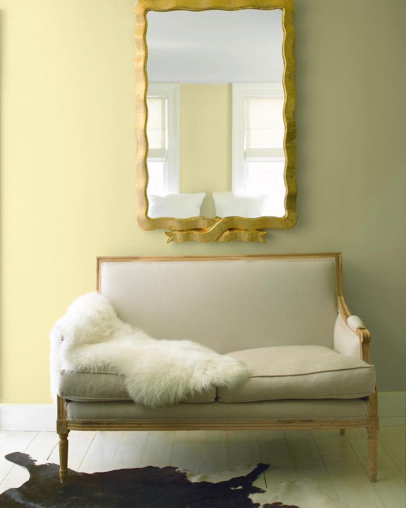Benjamin Moore Beacon Hill Damask paint