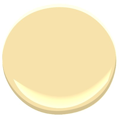 Benjamin Moore Traditional Yellow Bedroom Walls