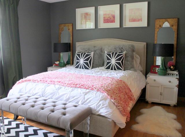 Kendall Charcoal HC 166 Benjamin Moore bedroom