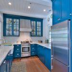 Cobalt blue kitchen interior design ideas