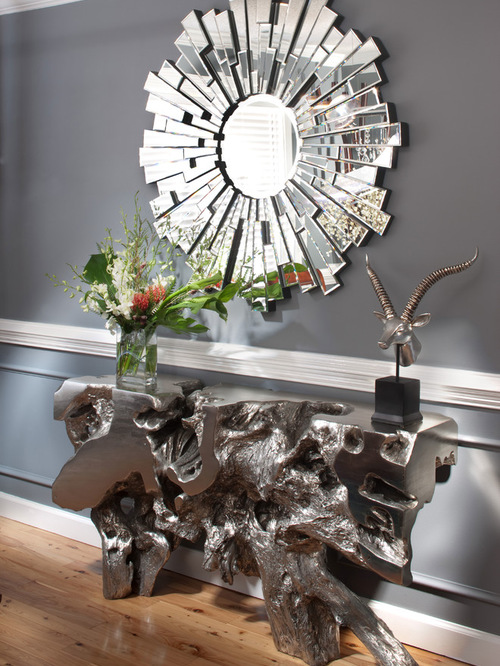 Sequoia Console Table gray interior design idea