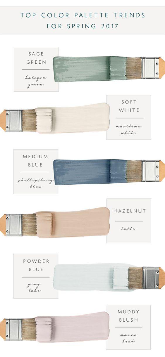 paint color trends 2017