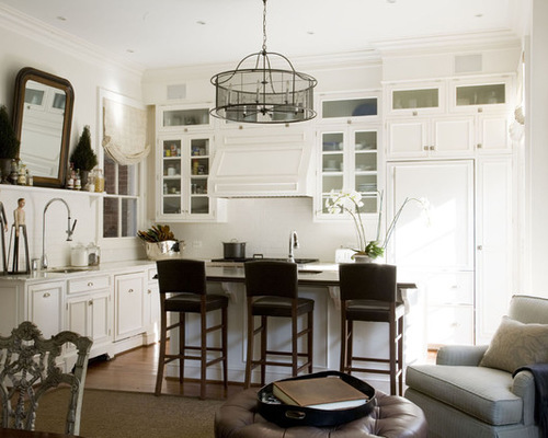 Benjamin Moore White Dove painted kitchen