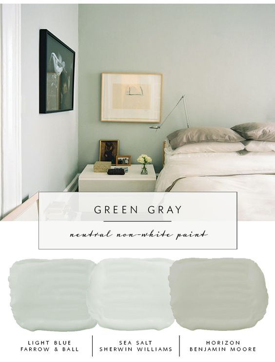 Paint color and Interior Color Palettes and Schemes green