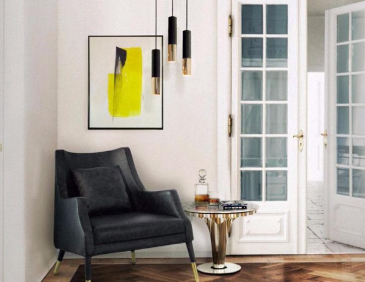 splash of yellow interior design idea 2017