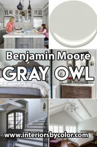 Benjamin Moore Gray Owl Paint Color Ideas