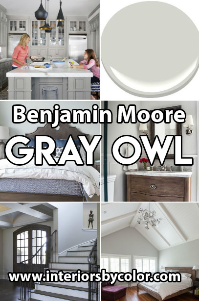 Benjamin Moore Gray Owl Paint Color Ideas