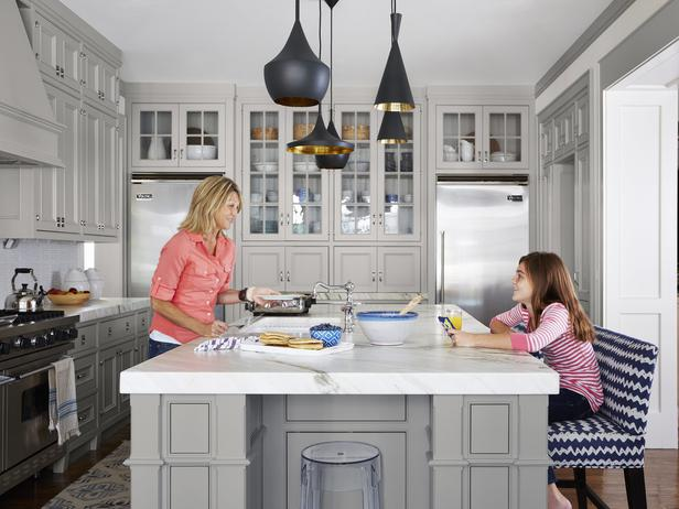 Benjamin Moore Gray Owl Paint Color Ideas - Interiors By Color on gray and white kitchens, gray kitchen cabinet doors, gray cabinets kitchen flooring ideas, painted kitchen cabinet ideas,