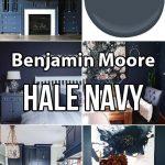 Benjamin Moore Hale Navy Paint Color Ideas