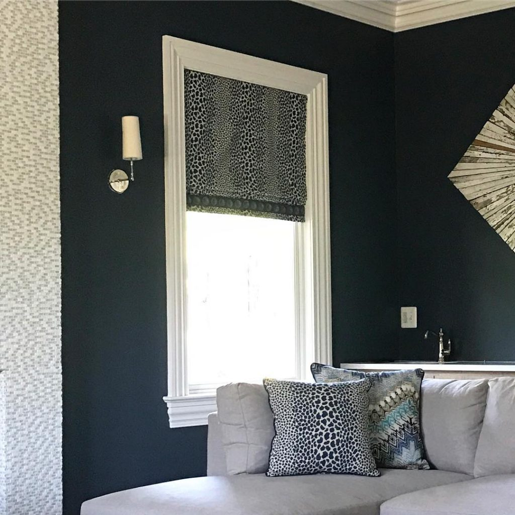 Benjamin Moore Hale Navy paint interior design ideas