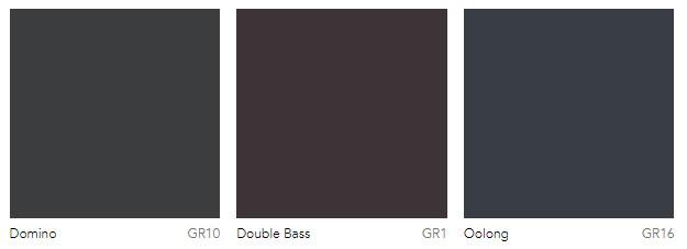 Dark grey paint colors Dulux Australia