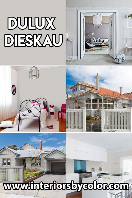 Dulux Dieskau Paint Color Ideas