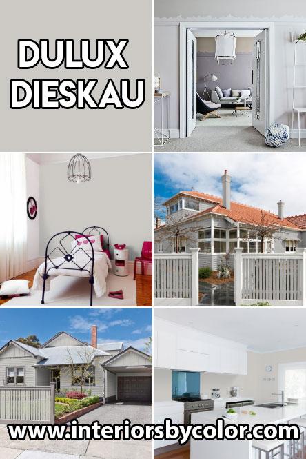 Dulux Dieskau Paint Color Ideas Interiors By Color