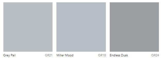 Light grey paint colors Dulux Australia