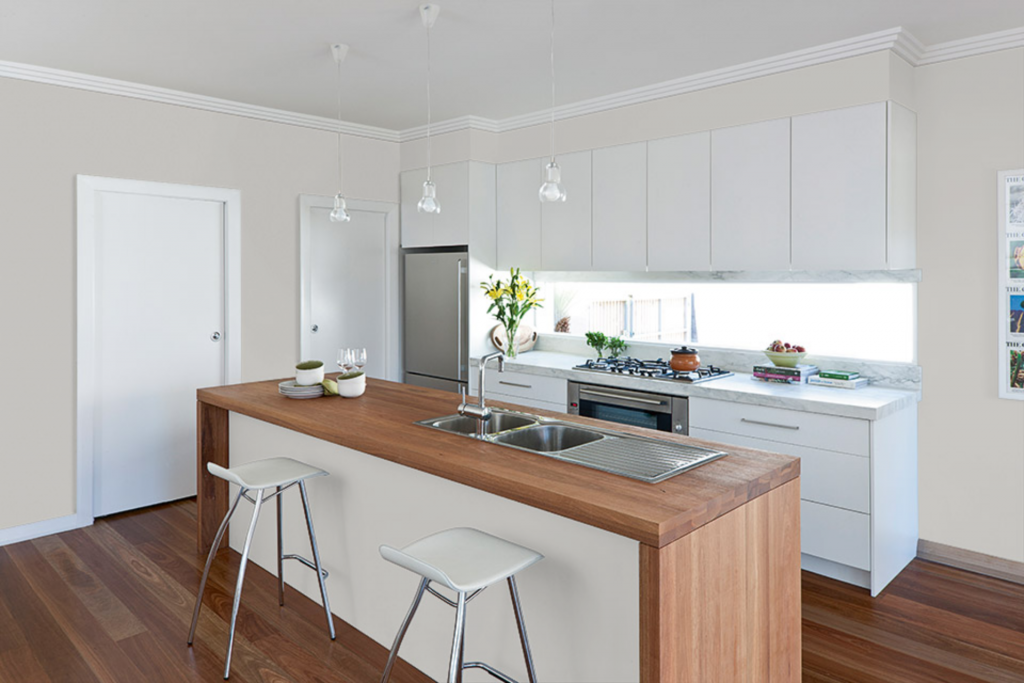 Tips For Kitchen Color Ideas: Dulux Dieskau Paint Color Ideas