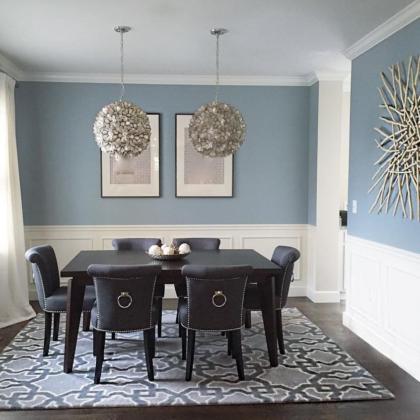Exciting benjamin moore dining room photos best inspiration home design - Designer gray paint color ...