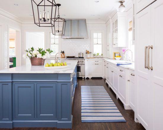 Benjamin Moore Van Deusen Blue - Navy Paint Color Schemes Kitchen 1
