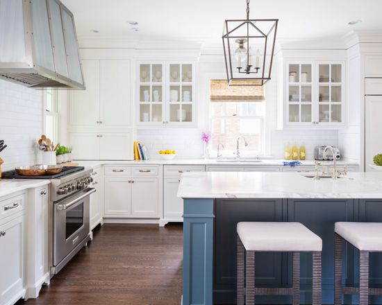 Benjamin Moore Van Deusen Blue - Navy Paint Color Schemes Kitchen