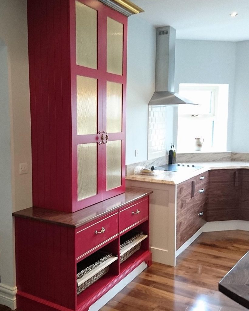 Farrow & Ball Rectory Red Paint Kitchen