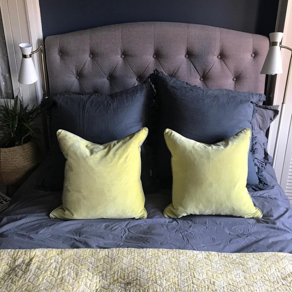 Farrow Ball Stiffkey Blue Painted Bedroom Walls Interiors By Color
