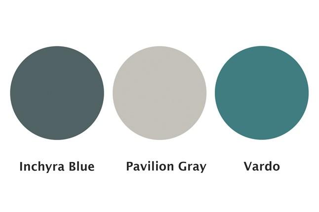 Farrow & Ball VardoMixes well with gray paints