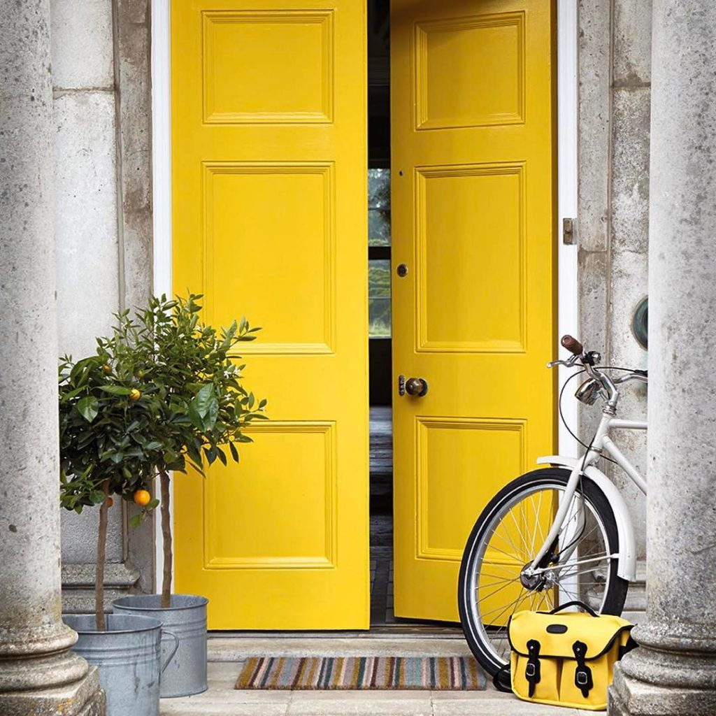 Little Greene Mister David paint door entrance