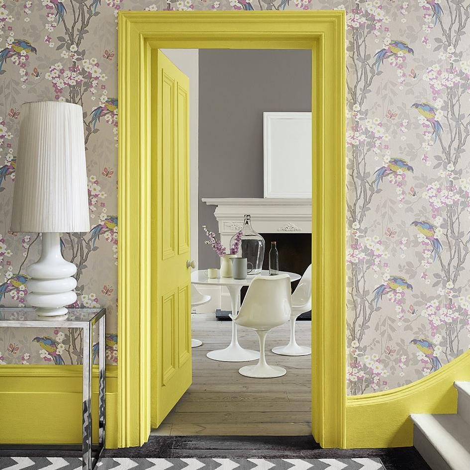 Little Greene Trumpet paint color skirtings and trim
