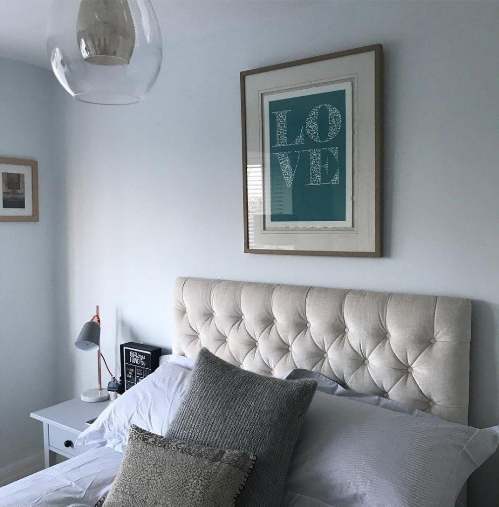 Bedroom Paint Color Schemes: Farrow & Ball Cabbage White Paint Color Schemes