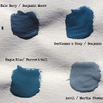 Opaque Blue Paint Colors