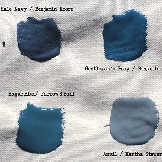 Opaque Blue Paint Colors
