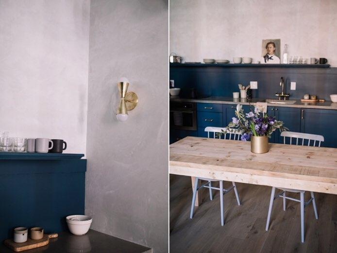 Sherwin Williams Seaworthy Paint Color Interiors