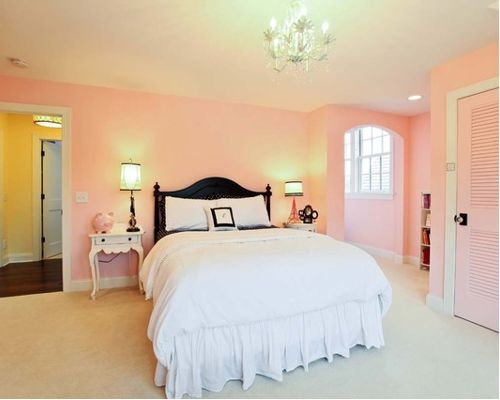 pick the perfect pink paint interiors by color 12845 | valspar ballet slippers bedroom pink paint color scheme