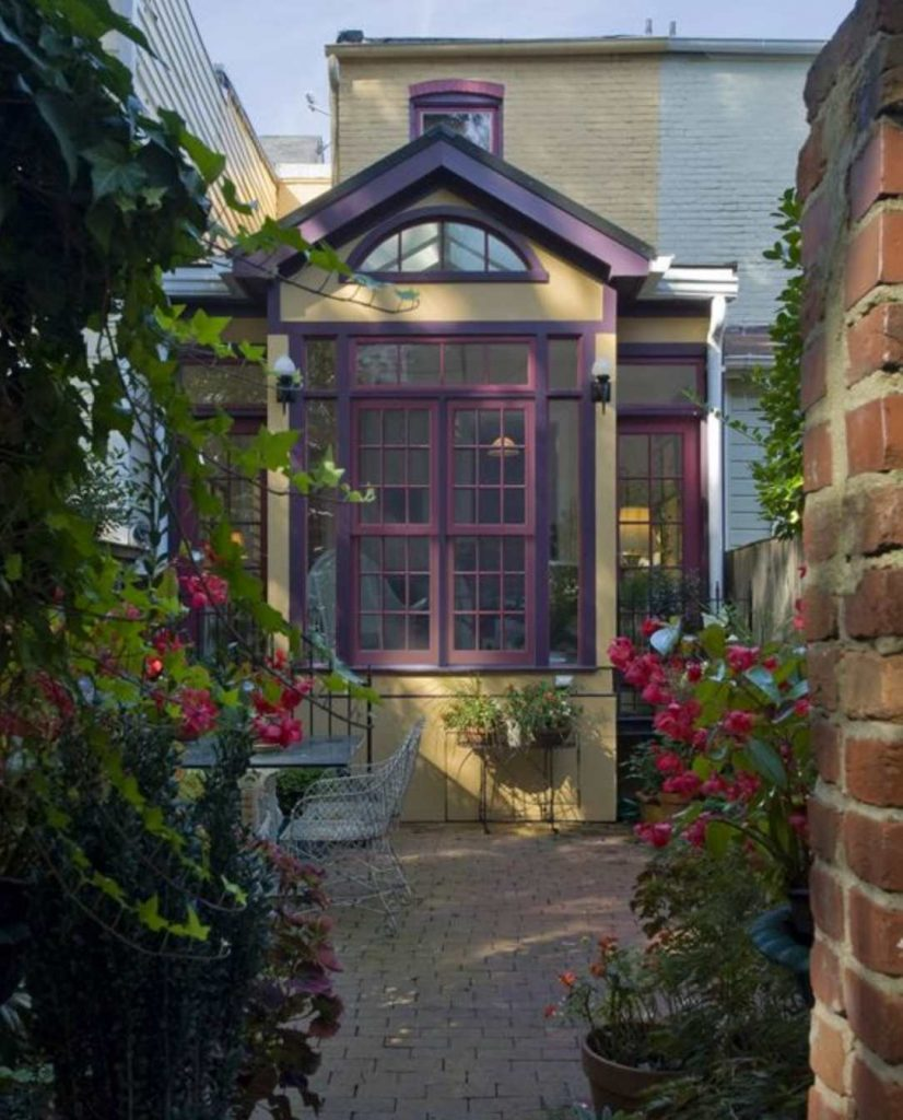 Benjamin Moore Autumn Purple Painted Exterior