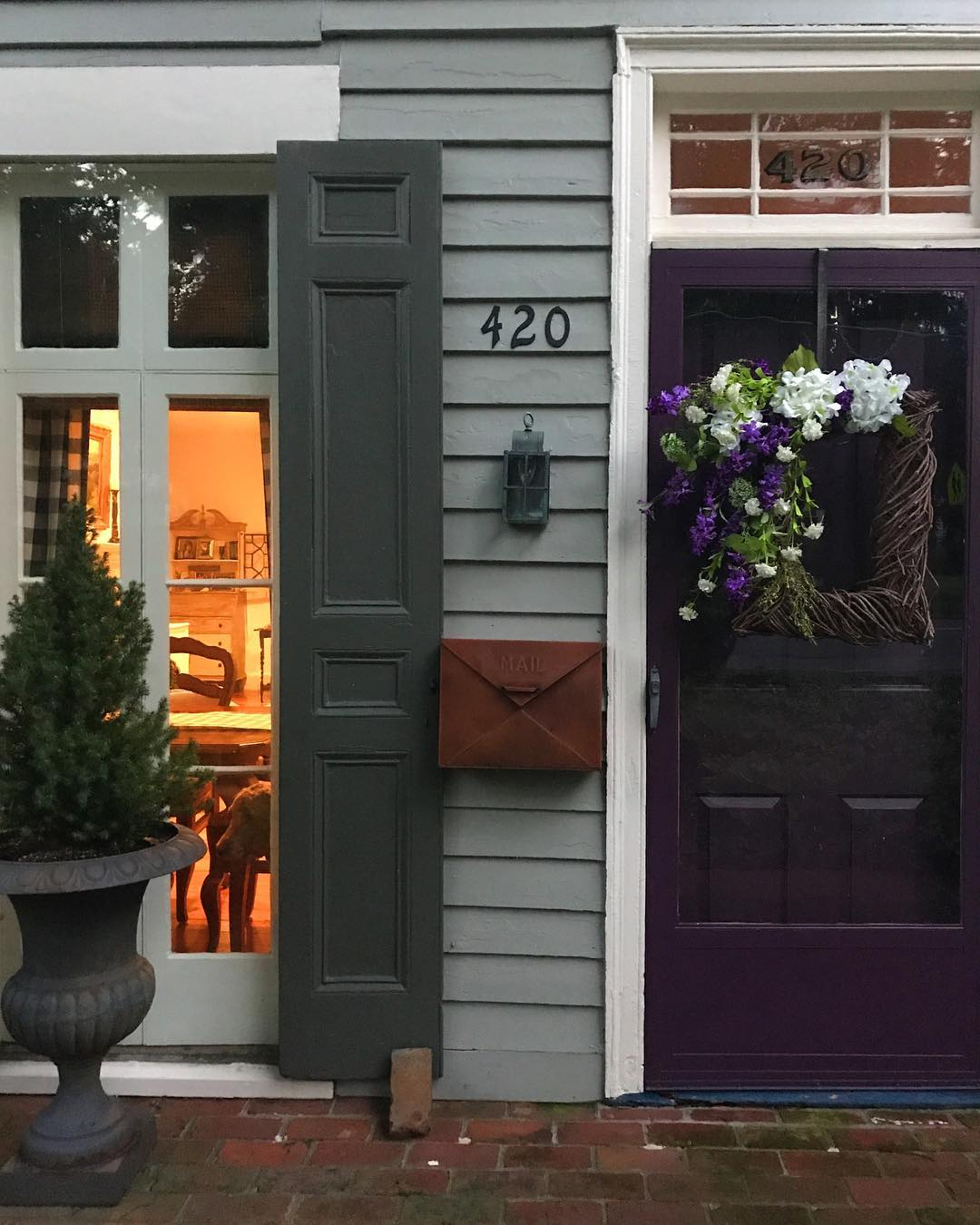 Benjamin Moore Autumn Purple Interiors By Color