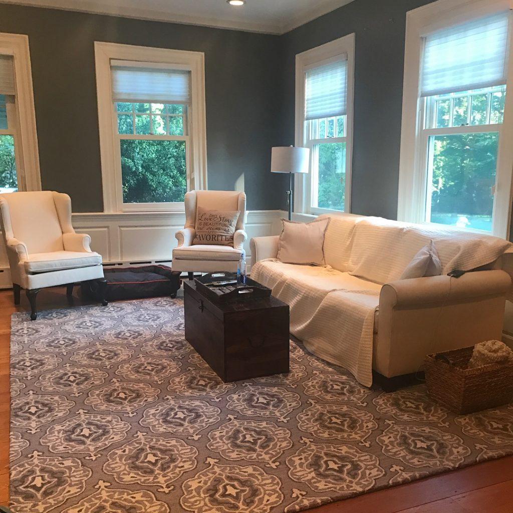 Benjamin Moore Chelsea Gray Paint Color Scheme Living Room