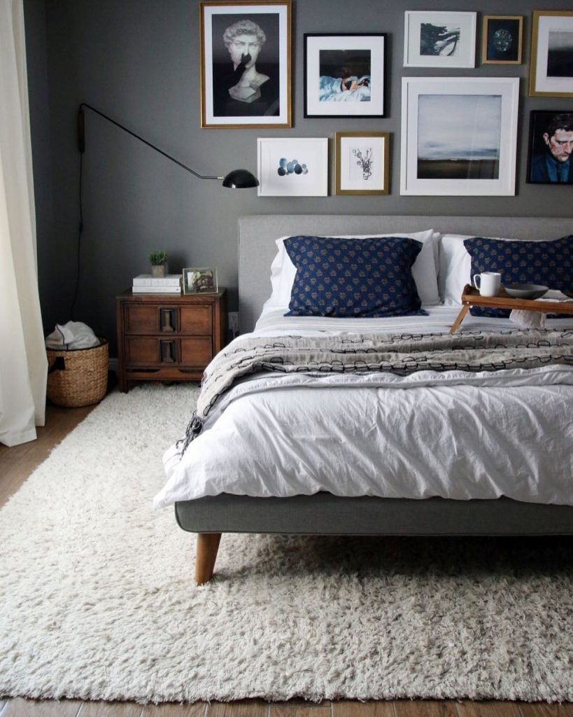 Benjamin Moore Chelsea Gray Paint Color Schemes Bedroom