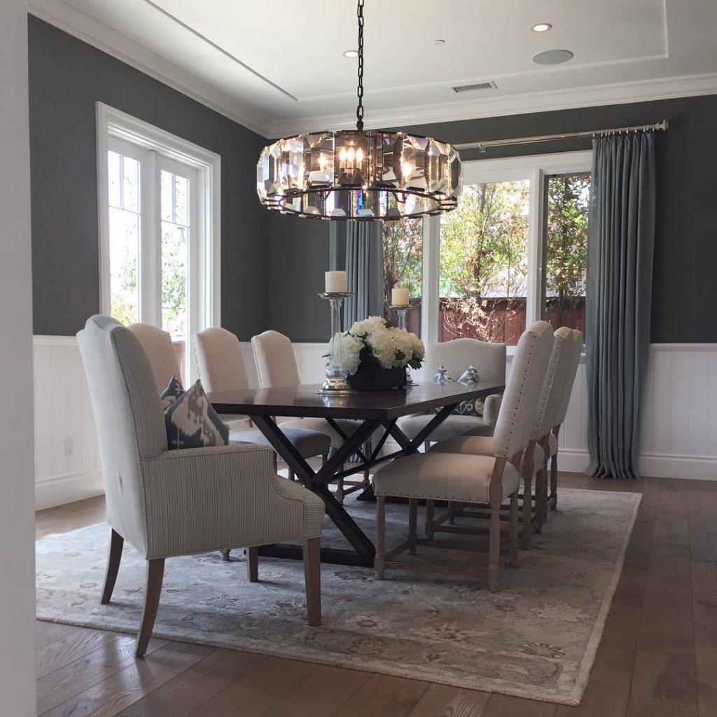 Benjamin moore chelsea gray paint color schemes - Gray living room walls ...