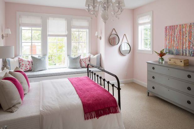 pink color bedroom photos benjamin pink bliss paint color schemes interiors 16733