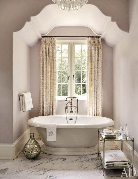 Benjamin Moore Violet Pearl Purple Paint Color Bathroom