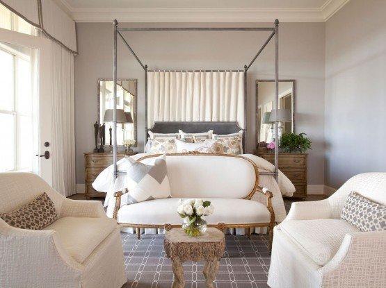 Benjamin Moore Violet Pearl Purple Paint Color Scheme Bedroom