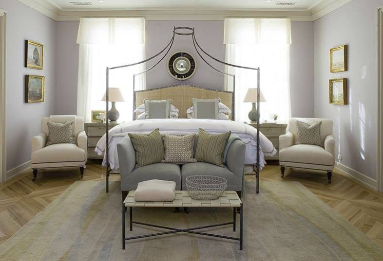 Benjamin Moore Violet Pearl Purple Paint Color Scheme for the Bedroom.jpg